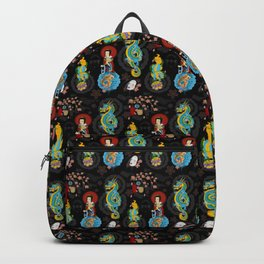 Japanese Tattoo Inspired Backpack
