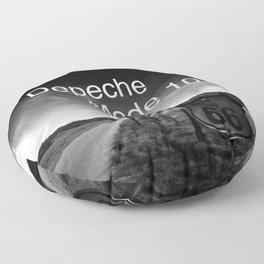 Depeche 101 Mute Promo Floor Pillow