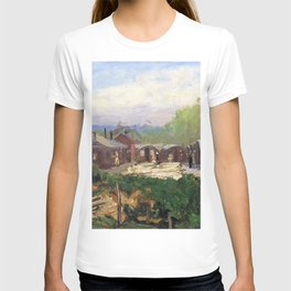 Sir John Lavery - No 3 Gs, Vad Camp, Rouen - Digital Remastered Edition T-shirt