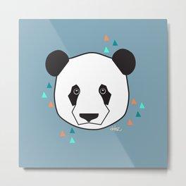 Prince The Panda Metal Print