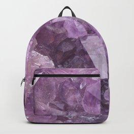Soft Violet Amethyst Backpack