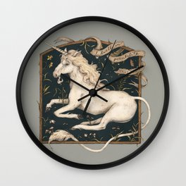 I Dwell in Possibility Wall Clock