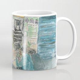 sketch_sesame oil chicken stall Coffee Mug