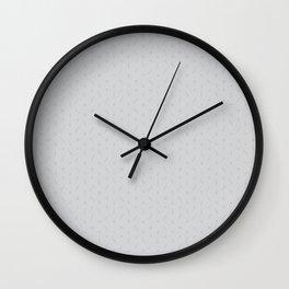 Claymore 7 Pattern - Light Grey Wall Clock