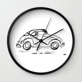 Bug - What Me Worry? Wall Clock
