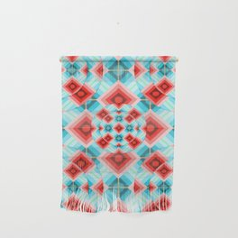 Groovy Argyle Wall Hanging