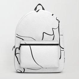 Pinky Swear, One Line Drawing Art Backpack