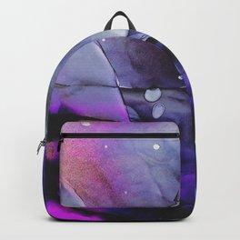 A Violet Gaze Backpack
