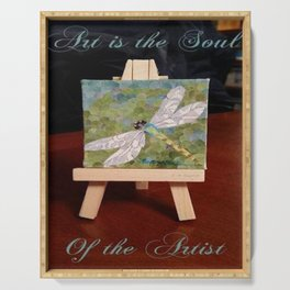 """"""" Artists Soul """" Serving Tray"""