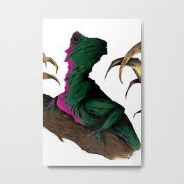 Lizard in repose Metal Print