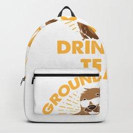 Groundhog Day Drinking Team Groundhog Day Beer Lover Gift T-Shirt Backpack