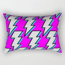 Purple Lightening Rectangular Pillow