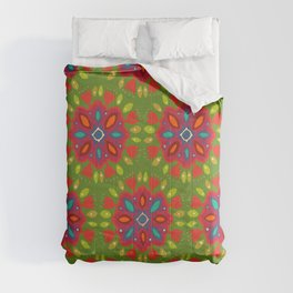 FLOR XL green Comforters