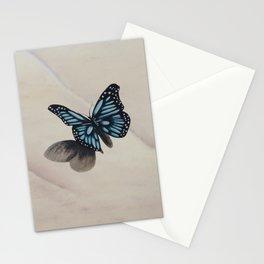 Le papillon de l'amour éternel Stationery Cards