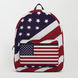 USA Star Spangled Banner Flag Backpack