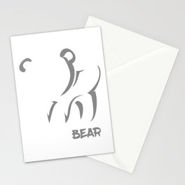 Molar Bear Cat Owner and Lover Gift Stationery Cards