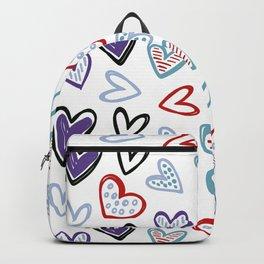 cute hearts Backpack