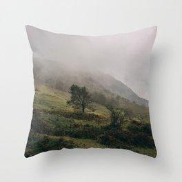 Monte Cocuzzo Throw Pillow