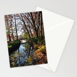 Beautiful autumn in Lyon Stationery Cards