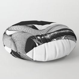 asc 921 - La suspension (Call it shock mount) Floor Pillow