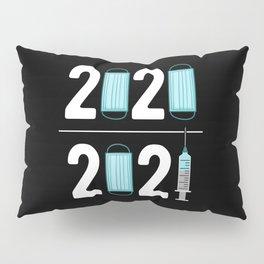 Vaccination 2021 Pillow Sham