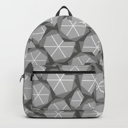 stones pattern Backpack