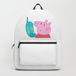 Peppa Pig Hang Up Backpack