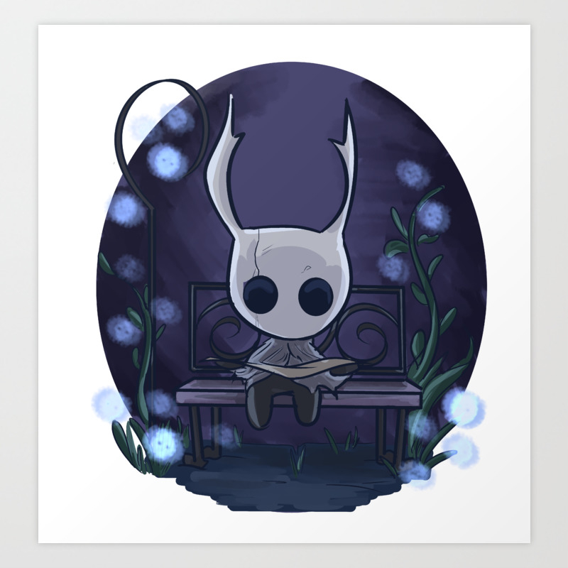 Hollow Knight Art Print By Inkpocket Society6