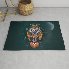Wisdom Of The Owl King Rug