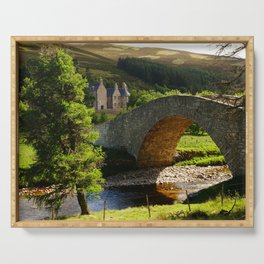 Cairngorms Natural Park, in the heart of the Scottish Highlands Serving Tray