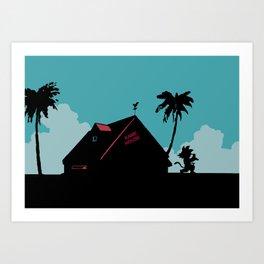Kame House Kunstdrucke