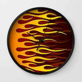 Speed Demon Wall Clock