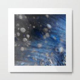 Wave & shells 2 Metal Print