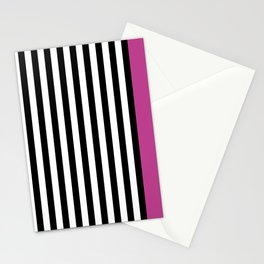 Liquorice allsorts, dark pink Stationery Cards