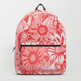 Red Gazanias Backpack