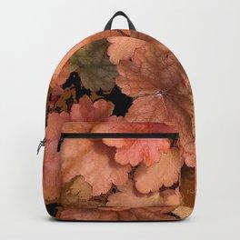DECORATIVE CUMIN ORANGE GARDEN LEAVES Backpack