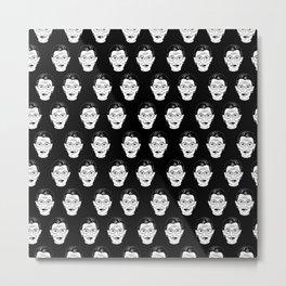 Ruth Bader Ginsburg Face Feminist Gifts Notorious RBG Metal Print