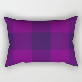 eggplant ultraviolet pattern Rectangular Pillow