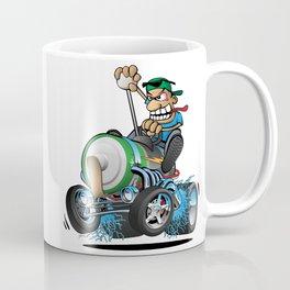 Hot Rod Electric Car Coffee Mug