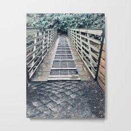 A Bridge Along Pacific Northwest Trails Metal Print