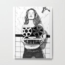 asc 520 - La scéance privée (She sings for me only) Metal Print
