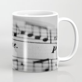 The Sweetness of Life #music#dolce#decor Coffee Mug