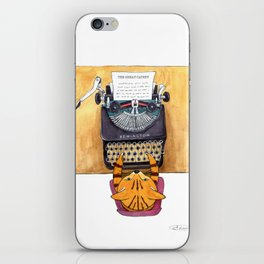 The Great Catsby. iPhone Skin