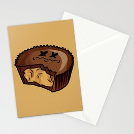 Chocolate PeanutButter Cup Stationery Cards