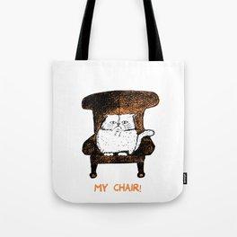 Mr Chair!  (Orange) Tote Bag