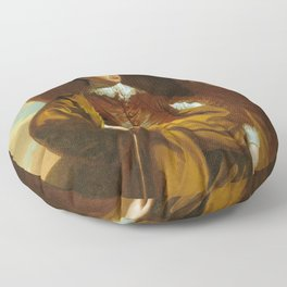 Benjamin West - Thomas Middleton of The Oaks Floor Pillow