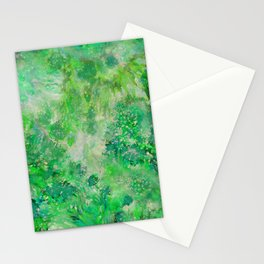 Peacefull Green Stationery Cards
