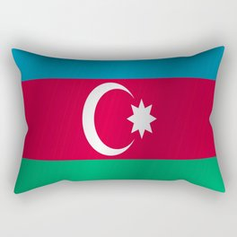 Flag of Azerbaijan Rectangular Pillow