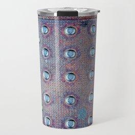 Urban Steel Texture Travel Mug