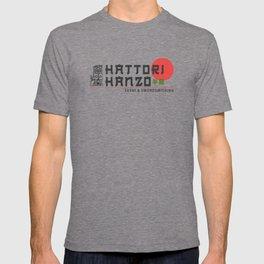 Hattori Hanzo, Sushi & Swordsmithing, est. 1945, Original Artwork for Wall Art, Prints, Posters, Tshirts, Men, Women, Kids T-shirt